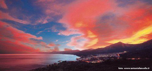 Panorama di Cala Gonone